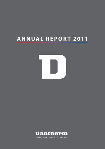Download annual report 2011 here - Dantherm