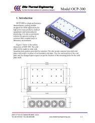 Model OCP-300 - RPMC Lasers