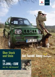 Jimmy Ranger - Autohaus Schulze-Elberg