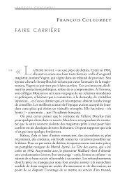 FAIRE CARRIÈRE - Pouvoirs