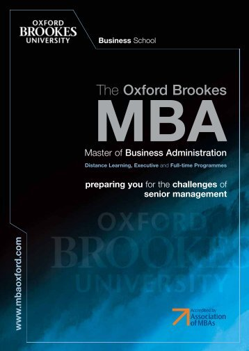 The Oxford Brookes
