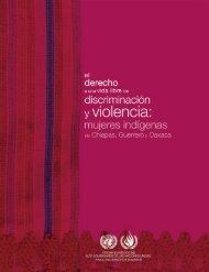 El derecho a una vida libre de discriminación y violencia