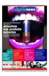 Fr-21-05-2013 - Algérie news quotidien national d'information