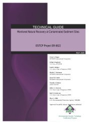 Monitored Natural Recovery at Contaminated Sediment Sites ...