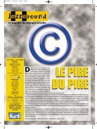 Numéro 14 / 2006 - Jazz in Belgium