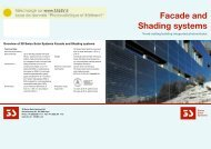 Overview of 3S Swiss Solar Systems Facade and Shading ... - TALEV