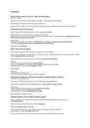 programme in English (pdf) - Lange Nacht der Museen