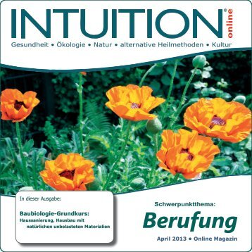 Berufung - INTUITION online