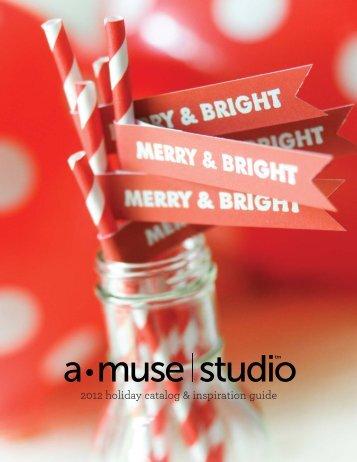 amuse studio holiday catalog 2012