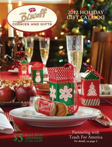 Lotus Biscoff Holiday Gift Catalog 2012