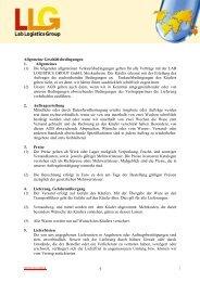 1 Allgemeine Geschäftsbedingungen 1. Allgemeines (1) Die ...