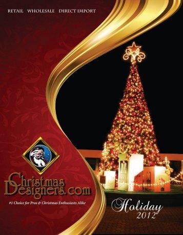 Christmas Designers, Holiday 2012
