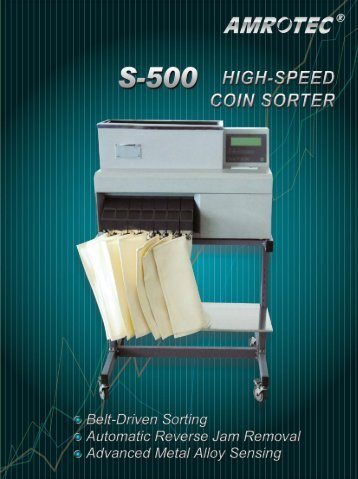 amrotec s-500 catalogue - Amro-Asian Trade Inc.