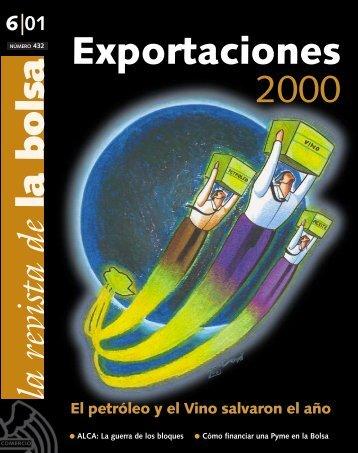 Junio 2001 internet - Bolsa de Comercio de Mendoza