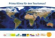 Prima Klima für den Tourismus? - DER Touristik