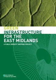 a Public Benefit Mapping Project - Green Infrastructure North West
