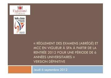 Règlements des examens 2012 2013 [PDF - 230 Ko ]