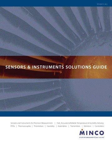 SENSORS & INSTRUMENTS SOLUTIONS GUIDE - Temflex Controls