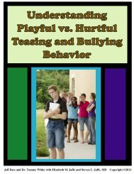 Understanding Playful vs. Hurtful Teasing and Bullying Behavior