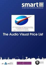 SmartAV Price List
