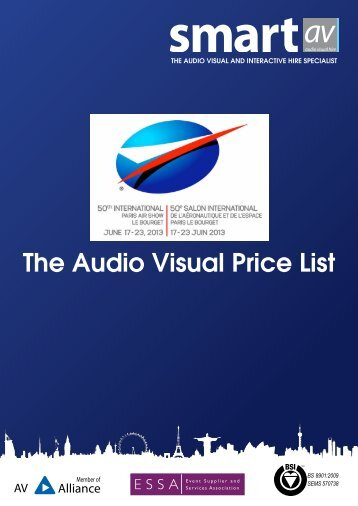 SmartAV Price List
