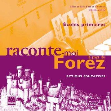 Écoles primaires - Forez Tourisme