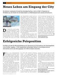 Wirtschaftsblatt 5/11 - Wirtschaftsförderung Wuppertal