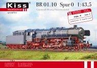 ® BR 01.10 Spur() 1=43,5 - Kiss Modellbahnen