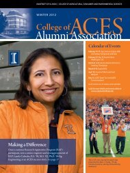 Winter 2012 - ACES Alumni Association - University of Illinois at ...