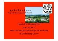 artefact, Globales Lernen, Lokales Handeln - NUN