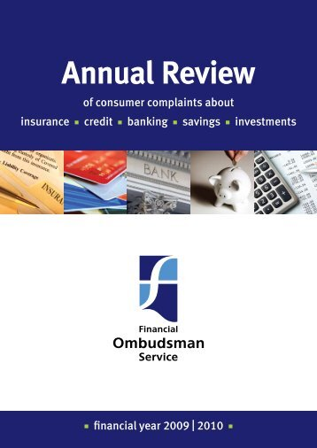 Annual Review 2009/2010 - Financial Ombudsman Service