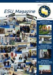Abschluss der ESU Mitgliederversammlung 2011 Wiederwahl als ...