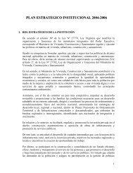 Contenido - Ministerio de Vivienda, Construcción y Saneamiento