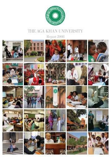 315. Report 2008 - Aga Khan Development Network