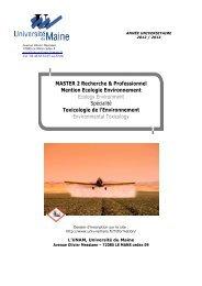 Brochure M2 TE 2012 2013 def LE MANS - Faculté des Sciences et ...