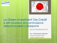 Green Investment Tax Credit - Corrente