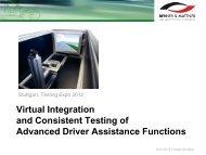 Virtual Integration - Automotive Testing Expo