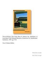 Edward Hopper - Robert Hobbs