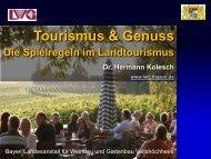 Tourismus & Genuss - Genussregion Oberfranken