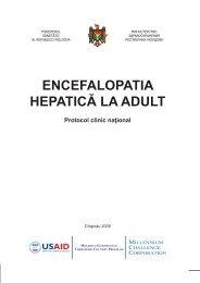 ENCEFALOPATIA HEPATICĂ LA ADULT - Ministerul Sănătăţii