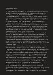 Geschonnek & Minetti Jahrhundertleben Im ... - Stephan Suschke
