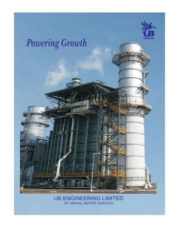 Annual Report 2009-2010 - UB Group