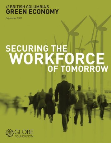 British Columbia's Green Economy: Securing the Workforce of