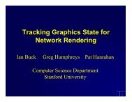 Tracking Graphics State for Network Rendering - Computer ...