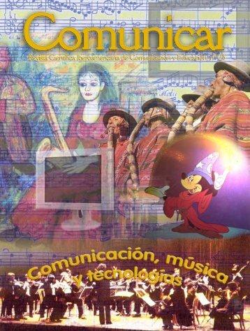 Comunicación, música y tecnologías - Revista Comunicar