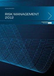 Danske Bank Group Risk Management 2012.pdf - Realkredit Danmark