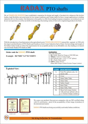View Catalogue - Ball Joint Suppliers