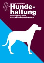 Hunde- haltung - Gemeinde Flurlingen