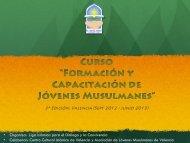 Descargar documento informativo - Centro Cultural Islámico de ...