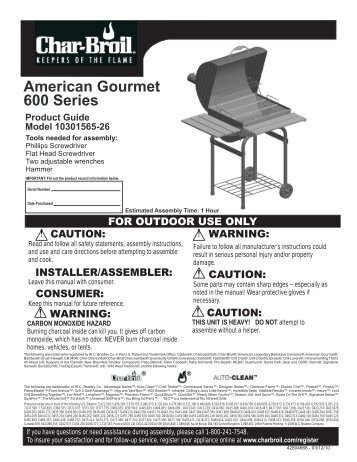 10301565-26 - English - Char-Broil Grills